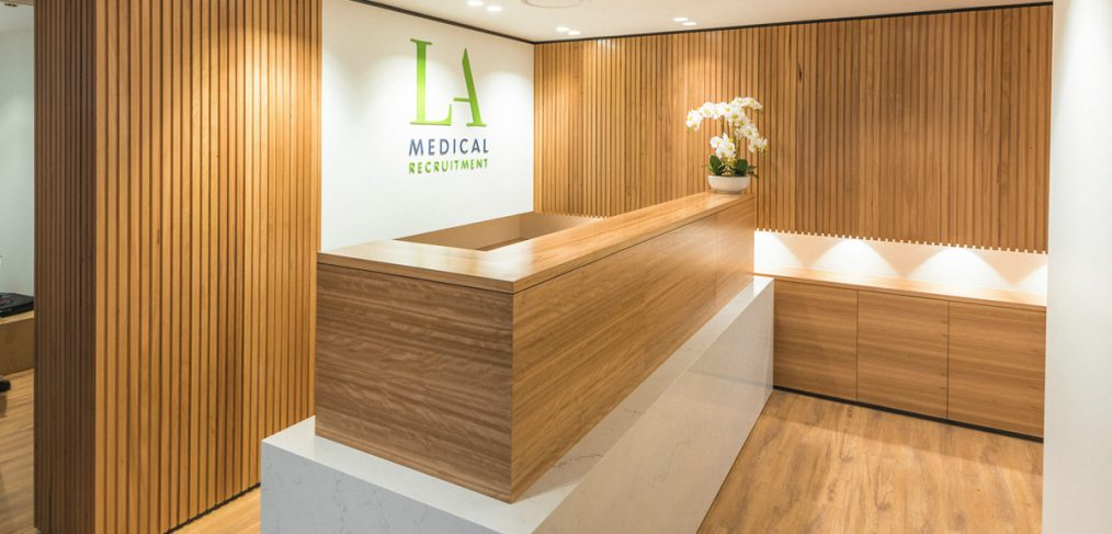 LA Medical Recruitment Office Fitout Brisbane
