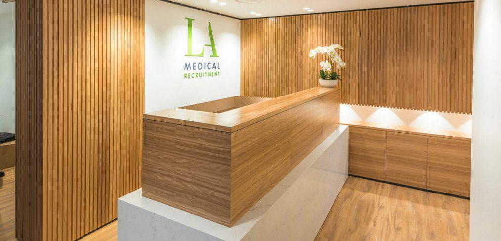 LA Medical Recruitment Office Fitout Brisbane